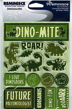 Reminisce - Dinosaurs 3D Scrapbooking Stickers 141 - Dino-mite