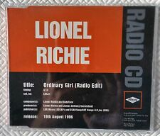 LIONEL RICHIE - ORDINARY GIRL (radio edit) RARE 1996 UK 1-TRACK PROMO CD SINGLE