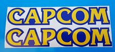 "x 2 Capcom Stickers Decal Graphic Vinyl 8"" Approx"