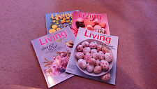 "MARTHA  STEWART  ""LIVING""   Magazines  2013  Jan.,Feb.,Mar.,Apr."