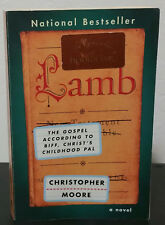 Lamb by Christopher Moore - Signed 1st Trade Paperback Edition