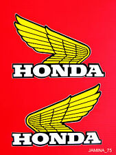 Honda XL185 XL200 XL250 XL350 XL500 XL600 Fuel Gas Tank Decal Sticker Wing Pair
