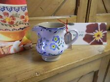"""NICHOLAS MOSSE POTTERY - SMALL PITCHER/JUG IN THE """"FORGET ME NOT"""" PATTERN"""