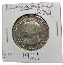 New listing 1921 Alabama 2 x 2 Commemorative half dollar