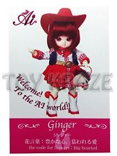 JUN PLANNING AI BALL JOINTED DOLL GINGER A-702 FASHION PULLIP GROOVE INC BJD NEW