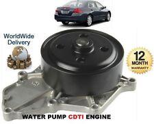 FOR HONDA ACCORD CIVIC CRV FRV 2.2DT CDTi 2/2003-> NEW WATER PUMP KIT