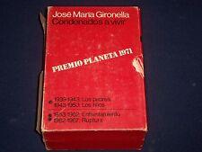 1971 CONDENADOS A VIVIR BOXED SET OF 2 VOLUME 1 & 2 BY JOSE GIRONELLA - KD 2575