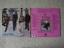 MANHATTANS SWEET TALK VINYL LP RECORD NEW SEALED R&B 1989 VALLEY BLUE RECORDS