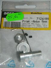 AERO NAUT 7124/09 Prop-Nabe 5mm M8 8mm SCHAFT motorwelle BEFESTIGUNGSSCHRAUBE