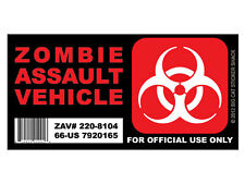 Zombie Assault Vehicle VERSION 2 (Bumper Sticker)