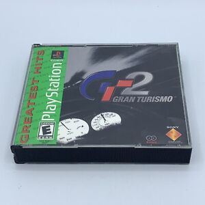 Grand Turismo 2 (Sony PlayStation 1 PS1) Greatest Hits - No Manual