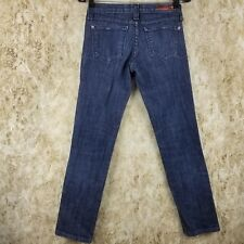Women's Junior Flying Monkey Skinny Low Rise Medium Indigo (Sz 3) Stretch