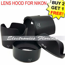Camera Bayonet Lens Hood Compatible with Nikon Model Lens Hood HB