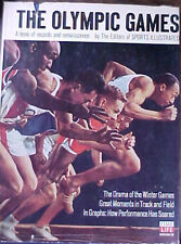 "1967 ""THE OLYMPIC GAMES: A BOOK OF RECORDS"" HC/DJ BOOK by SI AND TIME LIFE"