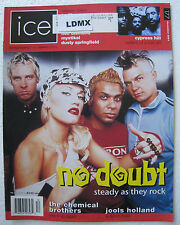 Ice Magazine - December 2001 - No Doubt, Cypress Hill, Jools Holland, Stefani