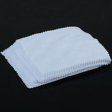 100PCS Microfiber Cleaning Cloth For Camera CellPhone Tab Screens Glasses Lens