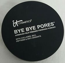 IT COSMETICS BYE BYE PORES TRANSLUCENT SILK PRESSED FINISHING POWDER .31 OZ NEW!