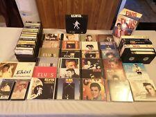 Elvis Presley Media Cassette, Cd, Vhs, Dvd Collection