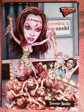 2007 TOPPS  HOLLYWOOD  ZOMBIE# 49   TERROR BANKS      *WKY311