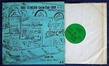 DUKE ELLINGTON - COTTON CLUB - 1938 VOLUME TWO - JAZZ ARCHIVES LP