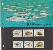 JERSEY PRESENTATION PACK 1998 MARINE LIFE III STAMP SET 10% OFF 5+