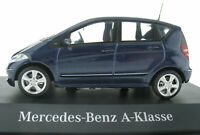 SCHUCO - Mercedes-Benz A-Klasse - W 169 - blau metallic - 1:43 Modellauto Model