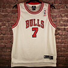 Reebok NBA Ben Gordon #7 White Home Jersey Mens XL Length +2