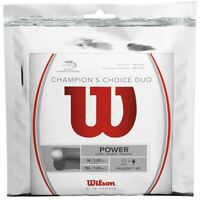 WILSON CHAMPION'S CHOICE DUO TENNIS STRING 1.25MM 16LG / 1.30MM 16G - ONE SET