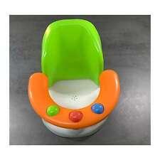 Baby Badesitz für die Badewanne mit bequemer Rückenlehne Badewannensitz grün