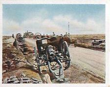 Abandoned English Battery Guns France Deutsches Heer WWI WELTKRIEG 1918 CHROMO