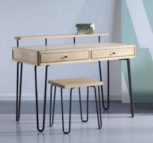 Heals Designer Desk and Stool Set