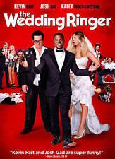 The Wedding Ringer (DVD, 2015) Kevin Hart Josh Gad Kaley Cuoco-Sweeting