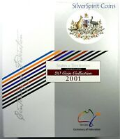 2001 CENTENARY OF FEDERATION 20 COIN COLLECTION Uncirculated in Album