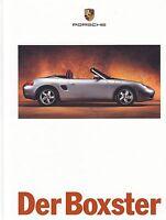 PORSCHE BOXSTER 986 S ROADSTER Sportscar Prospekt Buch Car Sales Brochure 1996