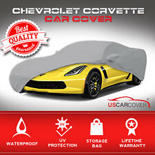 Full Coverage Mirror Pocket Custom Fit Car Cover For Chevrolet Chevy Corvette C5