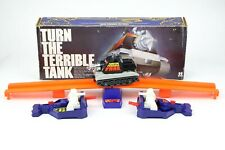 Vintage military tank War Battle Game Turn the Terrible Tank 1979 TOMY Corp Box