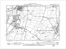 Old Ordnance Survey Maps Wellingborough Rushden Finedon area 1897 Godfrey Edit