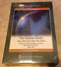 Teaching Company Great Courses Human Body How We Fail & Heal DVD set + book NEW