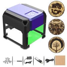 3000mw Mini USB Laser Engraver Printer Carver DIY Engraving Cutting Machine CN