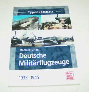 Tedesco Militärflugzeuge 1933 Fino 1945 - Heinkel,Junkers,Dornier,Henschel