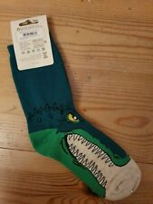 Boys Nature Planet Dinosaur Socks Uk 11-13.5
