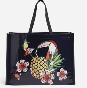 Vera Bradley Authentic Tucan Party Market Travel Tote NWT Carry On Bag