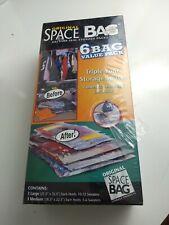 Space Bag Original Super Value Combo Set 6 Bags Triple Storage Space NEW  102119