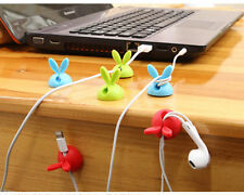 12pcs Cable Clips Desktop Cord Organizer Computer Charging Mouse Cord Holder