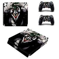 Joker Skin Vinyl sticker Decal host & Controller Skin For playstation 4 PS4 slim