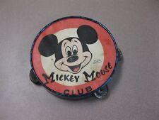 Vintage Mickey Mouse Tamborine Toy