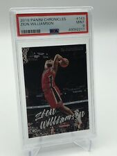 2019-20 Panini Chronicles Zion Williamson Luminance Card PSA 9 Invest Pelicans