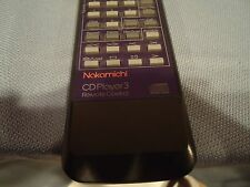 Nakamichi CD Player 3 Remote Perfect working order