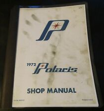 1972 Polaris Snowmobile Shop Service Manual Copy 100+ Pages (747)