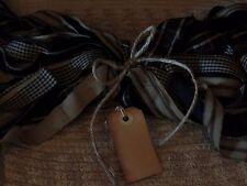 "100 Homespun Fabric Strips~Black Collection~ 1"" x 18"" ~Crafts~Ties~Primitives~"